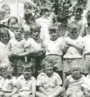 A group of our children at Hillmorton kindergarten in 1962