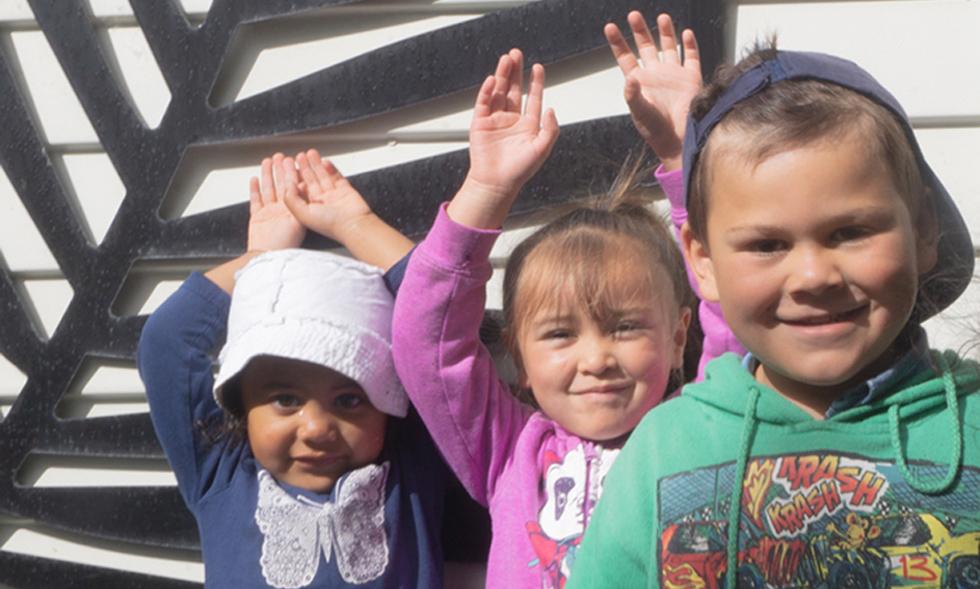 It takes a whanau to raise a child Kidsfirst Kindergartens