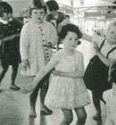 It´s all the craze! Our children do the twist in 1961.
