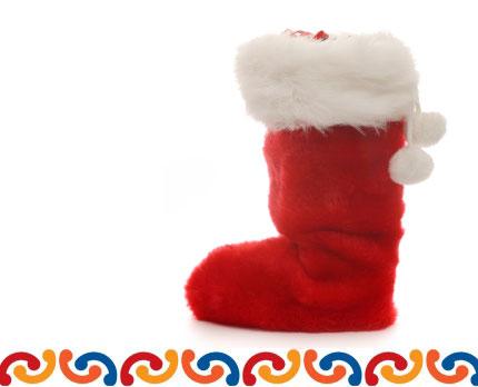 christmas stocking raffle - Giant Christmas Stocking